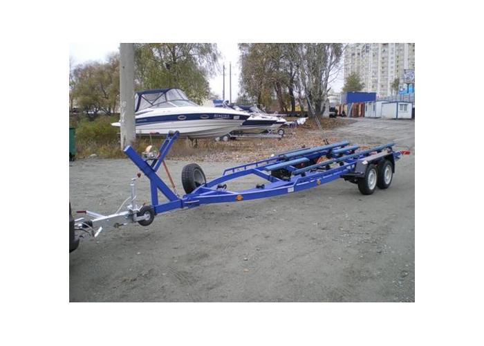 Трейлер для лодки своими рукам